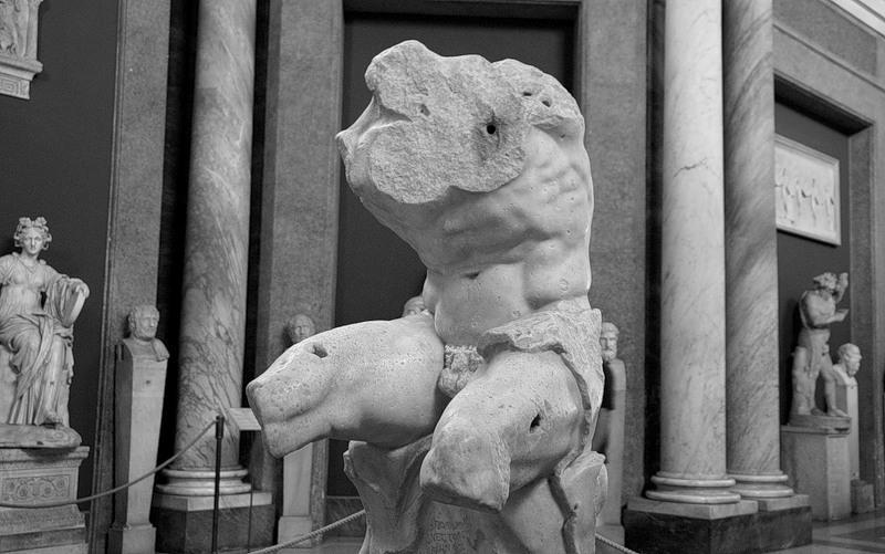 Vatican Müzesi Belvedere Torsosu