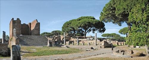 ostia-antica-Forum