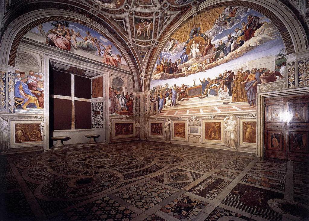 Fotoğraf Wikipedia'dan alınmıştır. https://en.wikipedia.org/wiki/Raphael_Rooms
