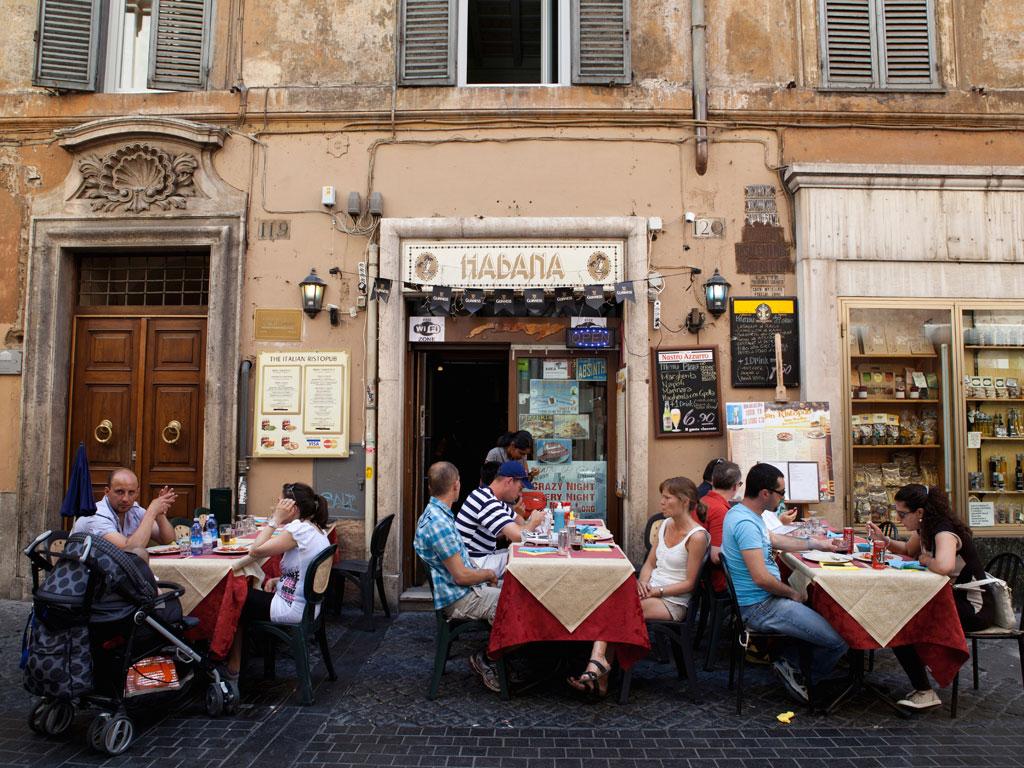 Romada alışveriş